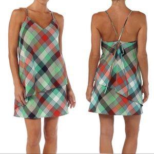 Patagonia   Dappled Light Checkered Plaid Dress 0